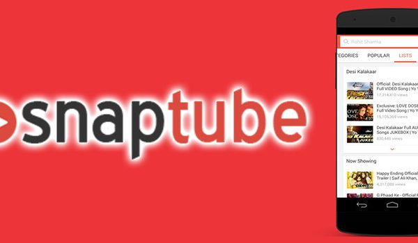 Download the Snaptube app for unlimited entertainment