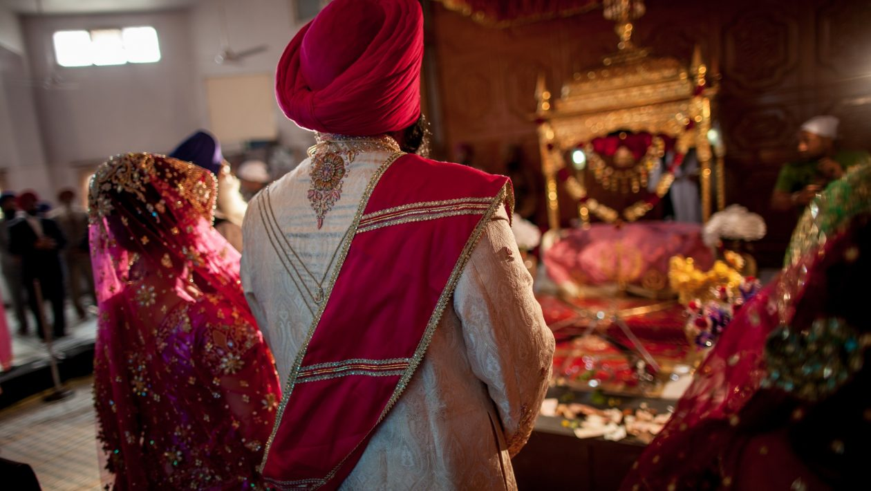Wedding Of Sikh Religion