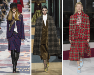 Colorful tartans