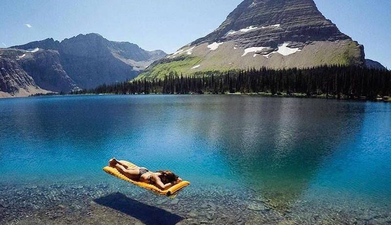 Transparent Water in Montana