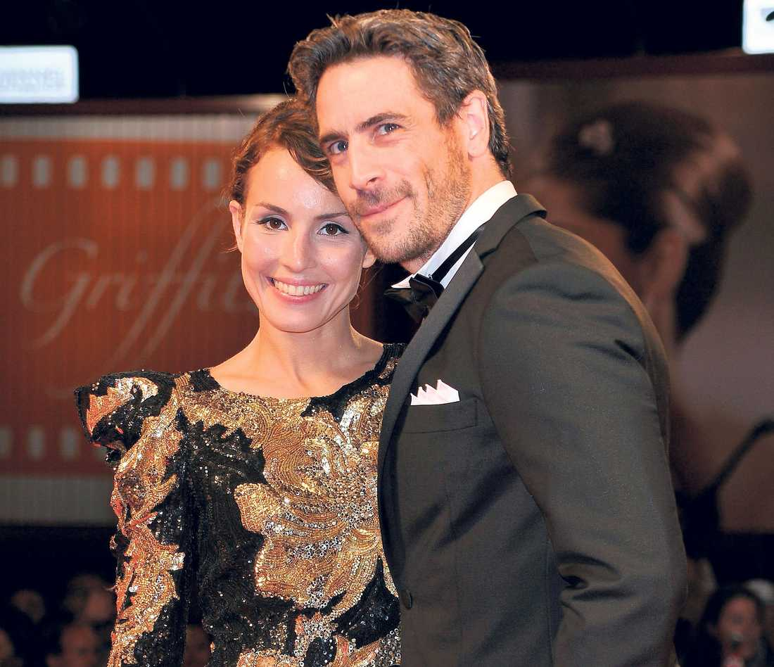 Ola Rapace and Noomi Rapace