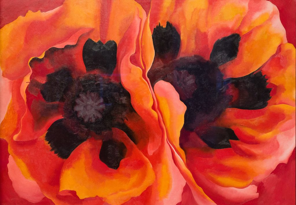 oriental poppies painting