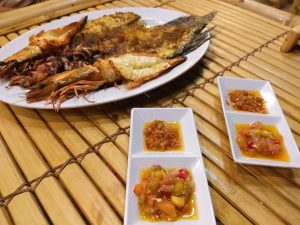 Try tasty seafood Things to do in Bali