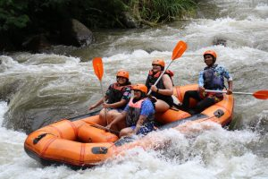 Go for river rafting