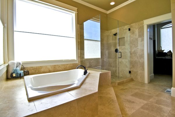 Pretty Bathroom Floor Tile Ideas