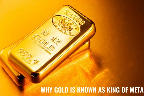 GOLD IS KNOWN AS KING OF METALS