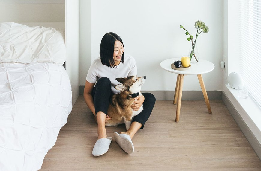 De-clutter your room