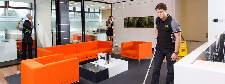Cleaning Services in Running a Commercial Building