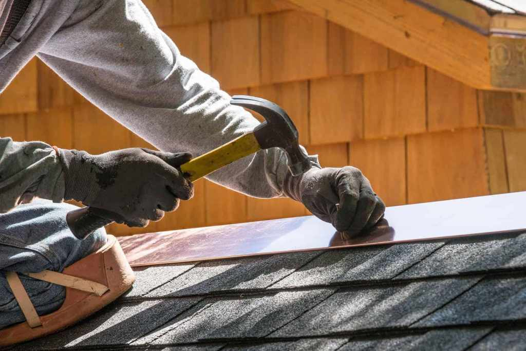 Hiring an uninsured roofer
