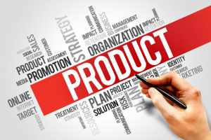 four p's of marketing for product