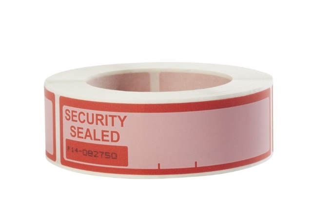 security evident label
