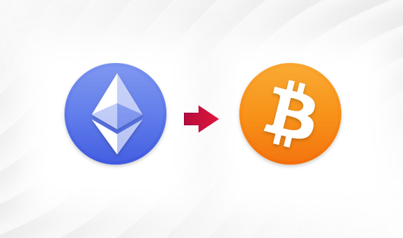 Convert Ether to BTC