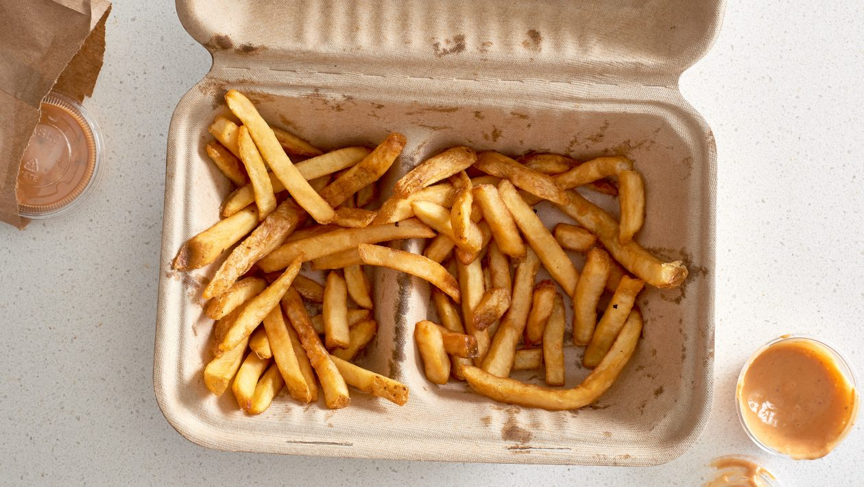 how to reheat fries